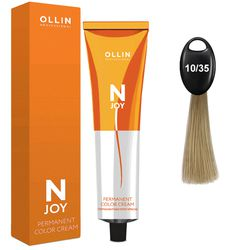 N-JOY Крем-краска для волос 10/35 светлый блондин золотисто-махагоновый