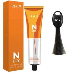 N-JOY Крем-краска для волос 3/12 темный шатен пепельно-фиолетовый 5/30 светлый шатен золотистый