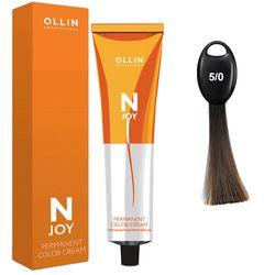 N-JOY Крем-краска для волос 5/0 светлый шатен