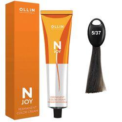 N-JOY Крем-краска для волос 5/37 светлый шатен золотисто-коричневый