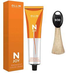 N-JOY Крем-краска для волос  9/30 блондин золотистый