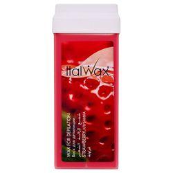 ItalWax Воск в картриджах, Клубника для коротких и жестких волос, 100 мл