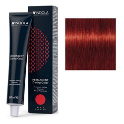 Стойкая крем-краска для волос RED&FASHION 6.66x Темный русый красный экстра