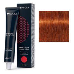 Стойкая крем-краска для волос RED&FASHION 7.44 Средний русый интенсивный медный