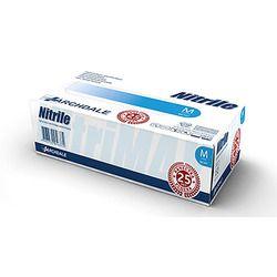 Перчатки нитриловые NITRILE размер S (50 пар), голубой