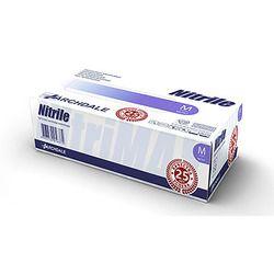 Перчатки нитриловые NITRILE размер S (50 пар), фиолетовый