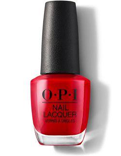 Лак для ногтей OPI Classic Big Apple Red
