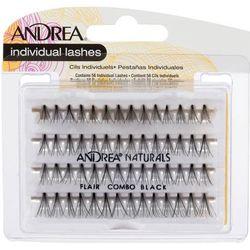 Пучки ресниц безузелковые Perma Natural Lashes комбинированные, черные