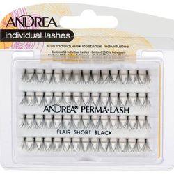 Пучки ресниц узелковые Perma Lash Flair, короткие, черные