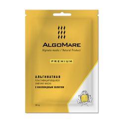Альгинатная премиум-маска с золотом, 30 г