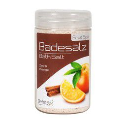 Соль для ножных ванн Апельсин/Корица