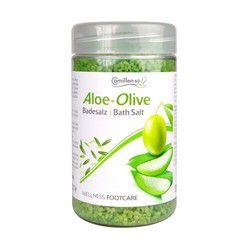 Соль для ножных ванн с алоэ вера и оливой, 350 г