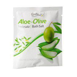 Соль для ножных ванн с алоэ вера и оливой, 40 г