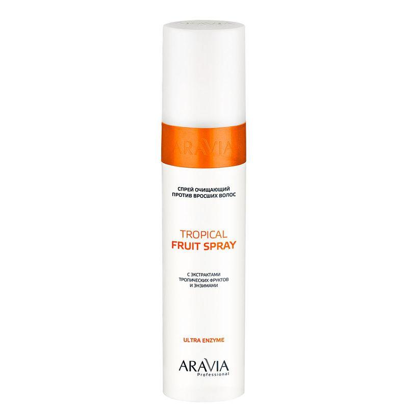 Спрей очищающий против вросших волос с экстрактами тропических фруктов Tropical Fruit Spray, 250 мл