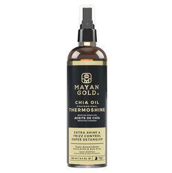 Спрей для защиты волос при укладке с маслом Чиа, MAYAN GOLD
