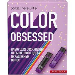 Набор Total Results Color Obsessed для защиты цвета окрашенных волос, 300 мл + 300 мл