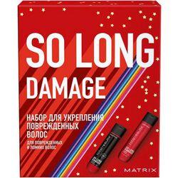 Набор Total Results So Long Damage для укрепления поврежденных волос, 300 мл + 300 мл