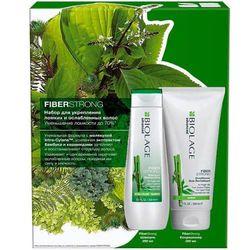 Набор Biolage Fiberstrong для укрепления ломких и ослабленных волос, 250 мл + 200 мл