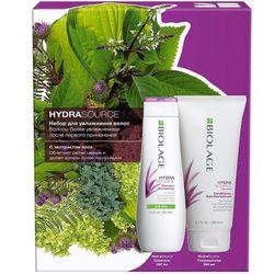 Набор Biolage Hydrasource для увлажнения волос, 250 мл + 200 мл