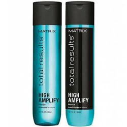 Набор Total Results High Amplify для объема волос, 300 мл + 300 мл